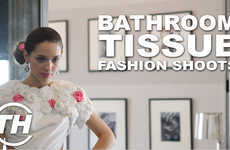Bathroom Tissue Fashion Shoots