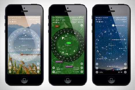 Astronomical Map Apps