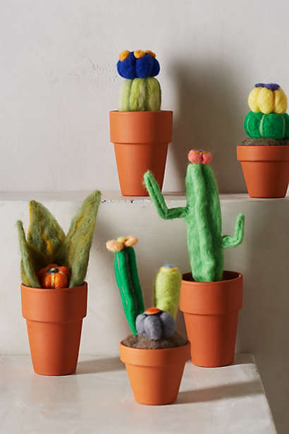 Plush Plant Accessories