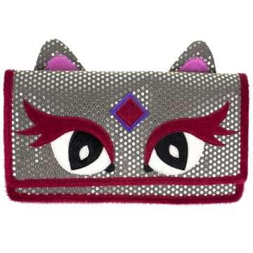 Feline-Faced Purse Accessories