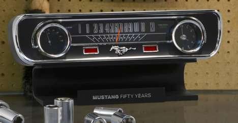 Retro Auto Alarm Clocks