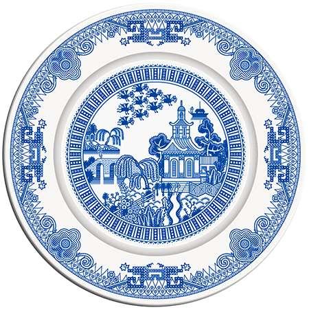 Comic Porcelain Dinnerware