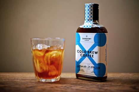 Scotch-Inspired Coffee Brews - The Sandows Cold Brew Coffee Will Keep You Hooked All Summer