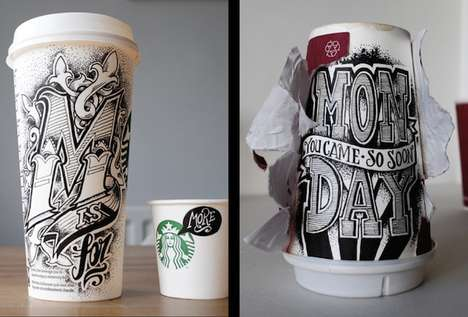 Coffee Cup Typography