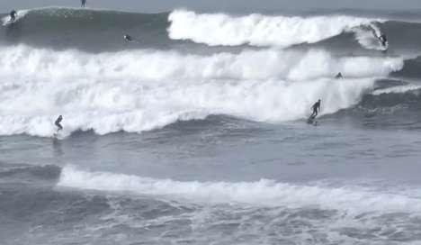 Compressed Surfer Timelapses