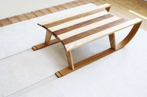 Snow Sled Coffee Tables