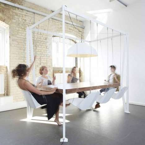 Playful Swingset Furnishings