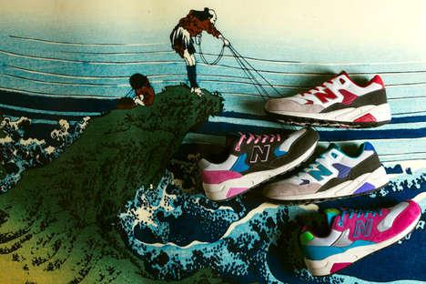Illustrative Sneaker Landscapes
