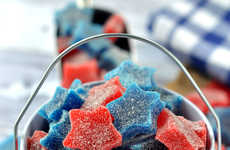 Patriotic Star Gumdrops - These Starry Sour Gummies Would Make the Perfect Memorial Day Treats