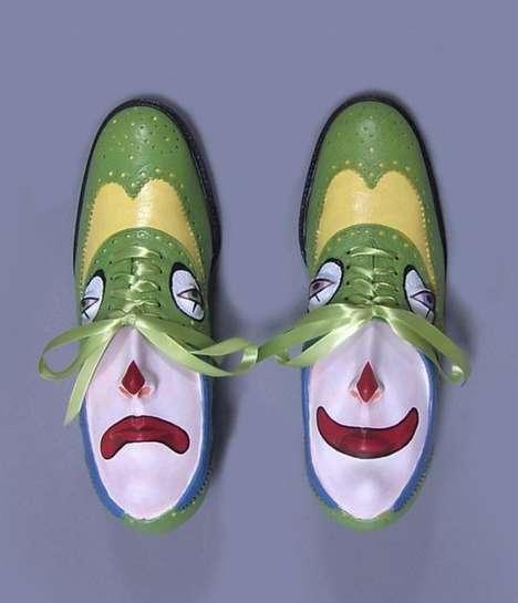 Personified Footwear Sculptures