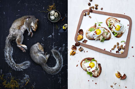 Repulsive Delicacy Photos - The 'Invasive Species' Photos Show Dishes Made from Rodents & Insects