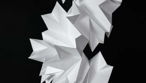 Hanging Origami Decor