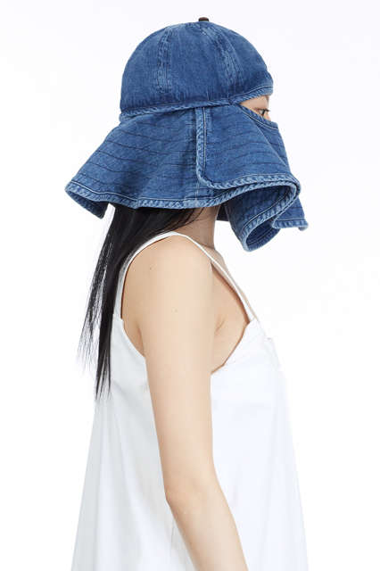 Face-Covering Bucket Hats - The Sunblock Hat is a Modern Alternative to Classic Veils