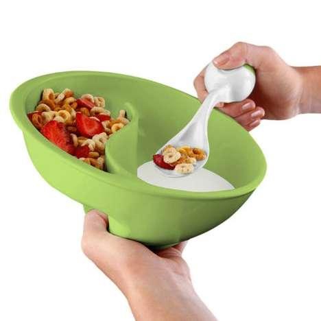 Cereal-Separating Bowls