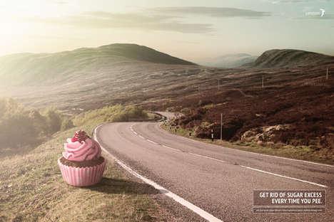 Dessert-Urinating Ads