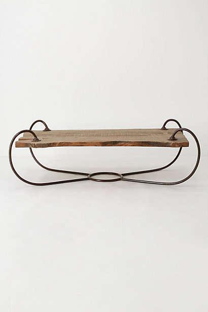 Sled-Inspired Wood Furnishings