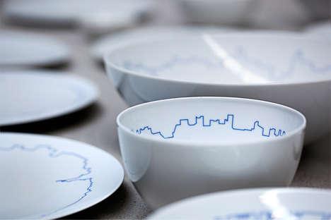 Cityscape Porcelain Designs