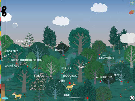 Kid-Friendly Ecology Apps - Tinybop's Second Educational Kids' App Centers Around Plants & Animals