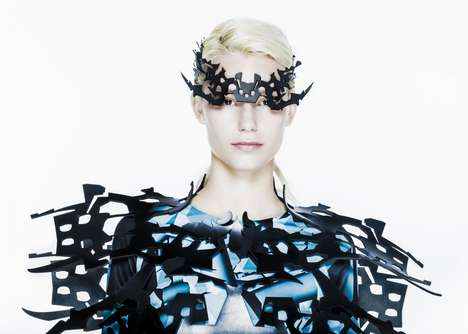 Sculptural Cyborg Couture