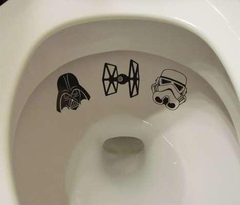 Sci-Fi Toilet Decals