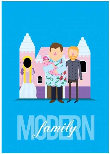 Sitcom Tribute Posters