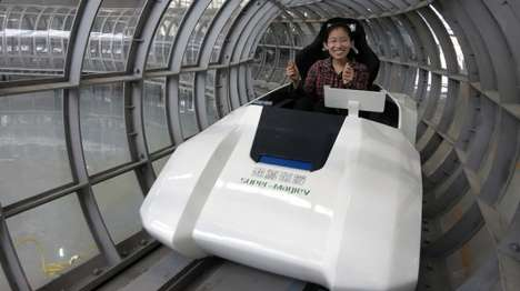 Supersonic Levitating Trains - The Chinese 'Super Maglev' Train Will Travel in a Vacuum Chamber