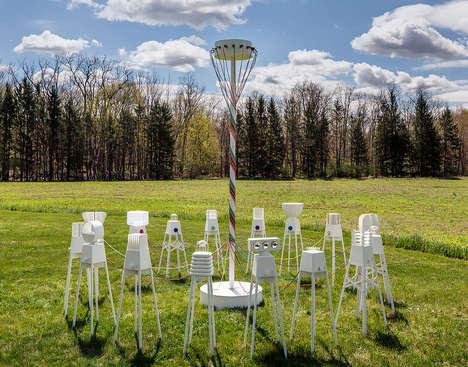 Dancing Robotic Lamps