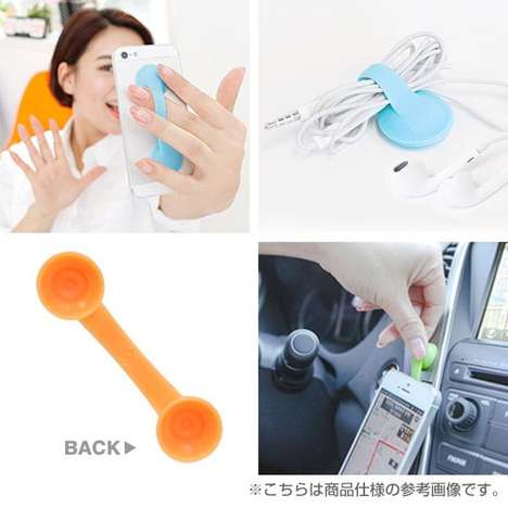 Suction Cup Phone Straps