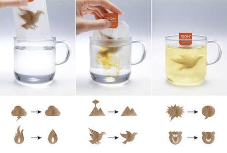 Stress-Compressing Tea Bags