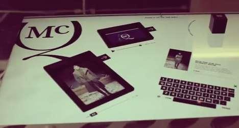Touchscreen Retailer Table Tops