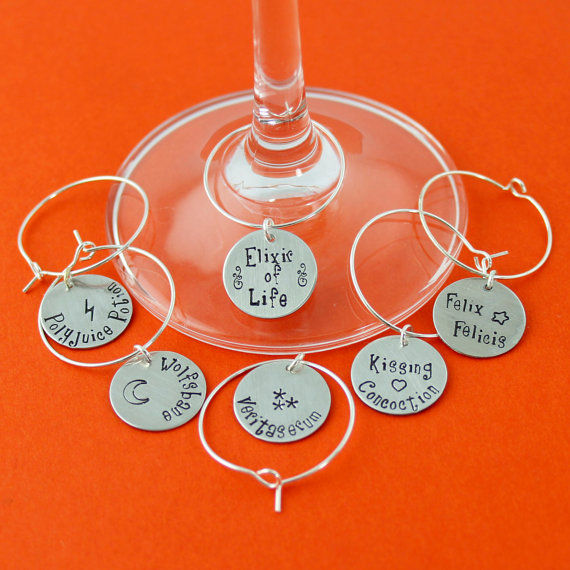 10 Whimsical Wine Glass Markers