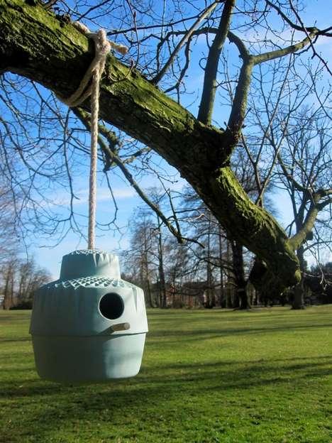Eco-friendly Ceramic Birdhouses