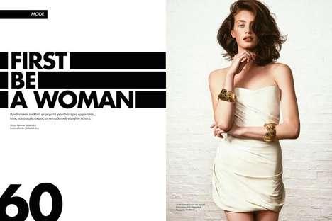 Proudly Feminine Editorials