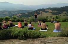 Indulgent Fitness Retreats - Sadie Nardini's Wine and Yoga Retreat Focuses on 'Healthy Hedonism'