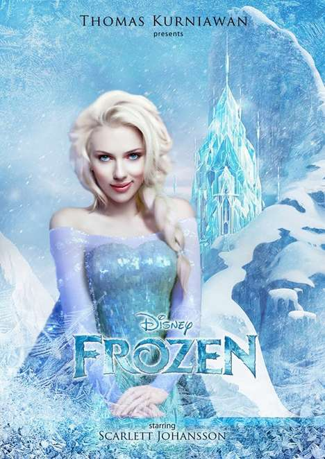 Live-Action Disney Posters