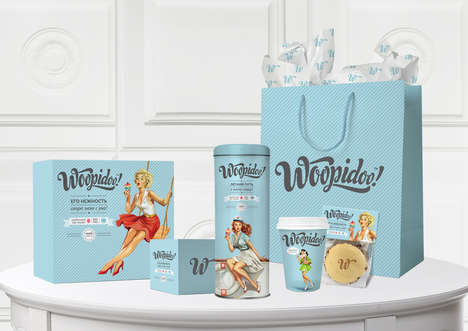 Woopidoo Goes with a Pin-up Look for its Baked Goods