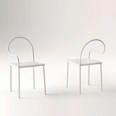 Minimalist Squiggled Seating