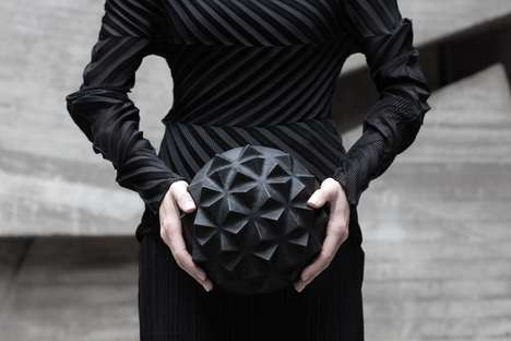 Sculptural Leather Accessories