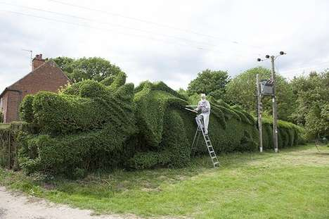 Arboreal Dragon Sculptures