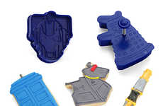 Sci-Fi Cookie Cutters - These Galactic Doctor Who Cookie Cutters Make Baking a Futuristic Experience
