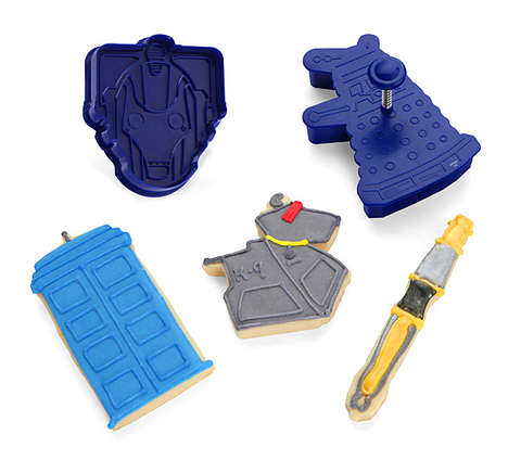 Sci-Fi Cookie Cutters