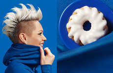Donut Doppelgänger Photography - The 'Donut Doubles' Series Finds an Unexpected Food Match