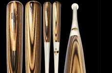 Flame-Treated Baseball Bats