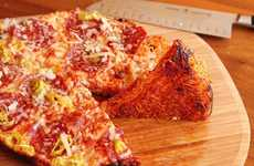 Noodle Pizza Crusts - This Pizza Recipe Substitutes Pizza Dough For Ramen Noodles