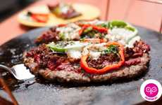 Meaty Pizza Crusts - The Meatza Pizza Substitutes Gluten-Filled Crusts With Ground Beef