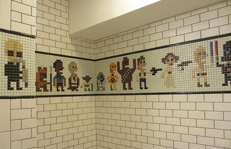 Sci-Fi Shower Tiles