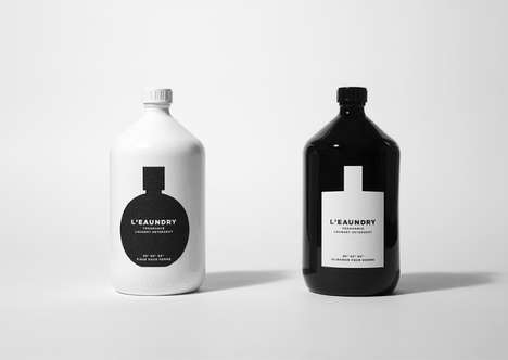 Perfume-Like Laundry Bottles - The L'eaundry Concept Makes Laundry Products Seem Decadent