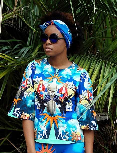 Tropical Kaleidoscope Fashions