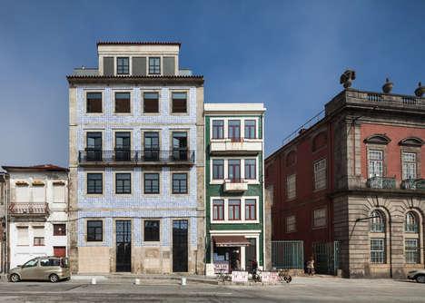 Retro Tiled Buildings