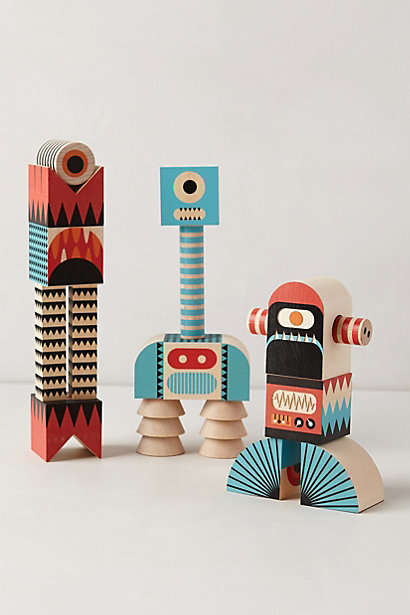 Abstract Monster Decor